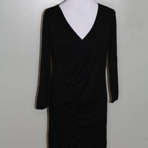 LOFT black Polyester dress SZ SPM